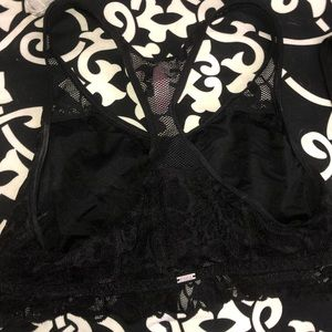 Victoria Secret PINK Lace Racer Back Bralette